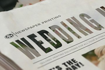 Wedding Newspaper Printing