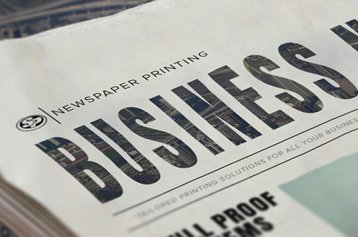 Business to Business Newspaper Printing