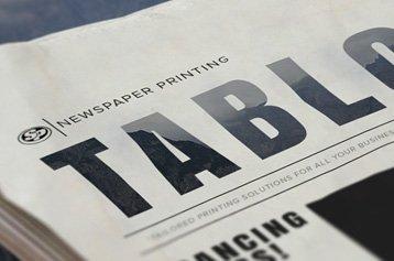 Tabloid Newspaper Printing